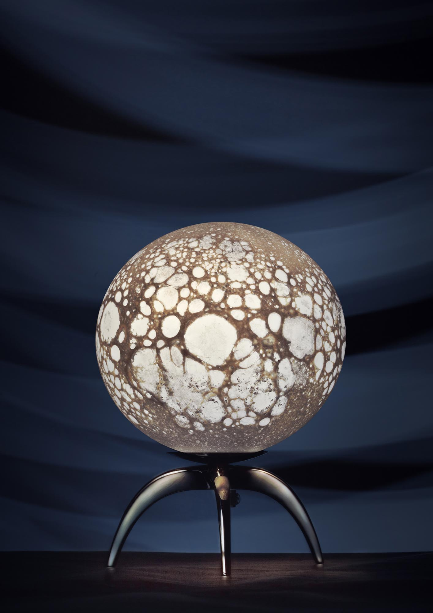 Lune LEM table lamp, H 20 x diam. 14cm
