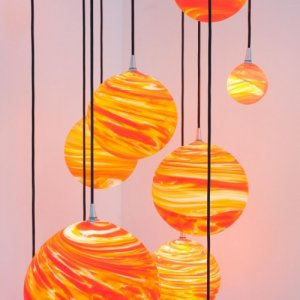 COUCHER DE SOLEIL<br><span>Lustre, suspension, applique, lampe<span>