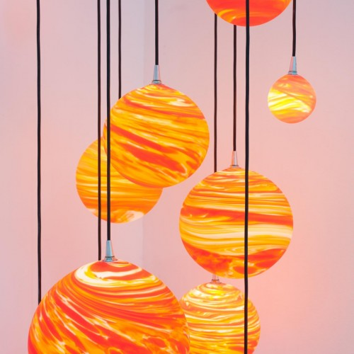 COUCHER DE SOLEIL<br><span>Chandelier, hanging light, wall light, table lamp <span>