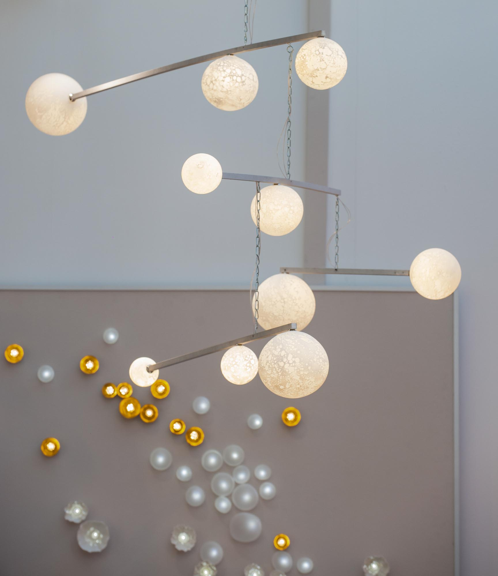 Lune Mobile chandelier, n°2