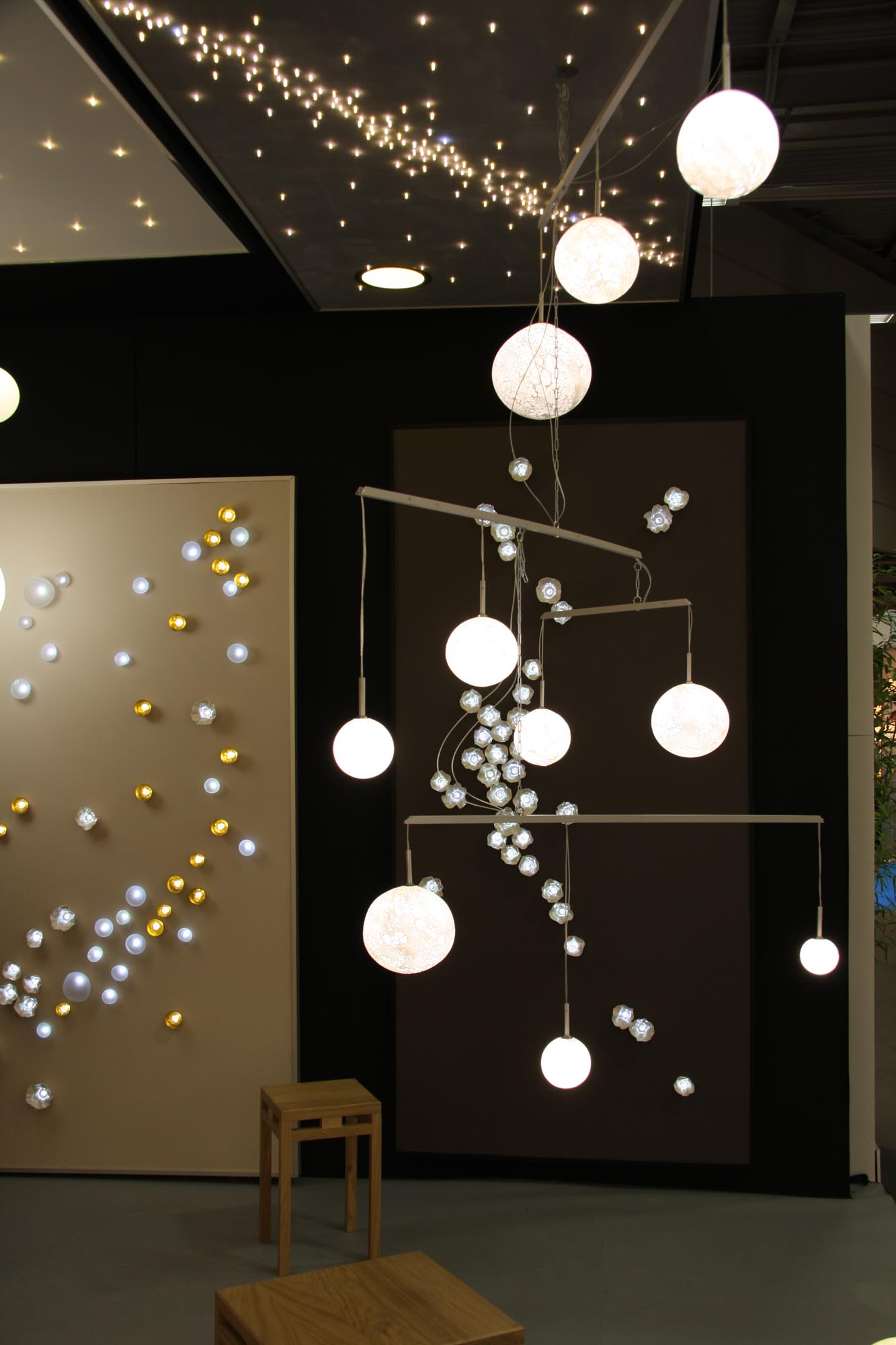 Lune Mobile chandelier, n°1