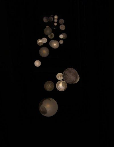 Planètes chandelier, H 20m