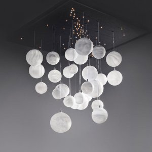 PLANÈTES<br><span>Chandelier and hanging light<span>